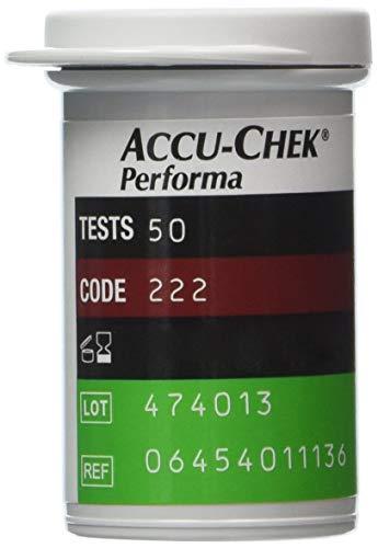 Accu-Chek Performa Blutzucker-Teststreifen (50Stück)