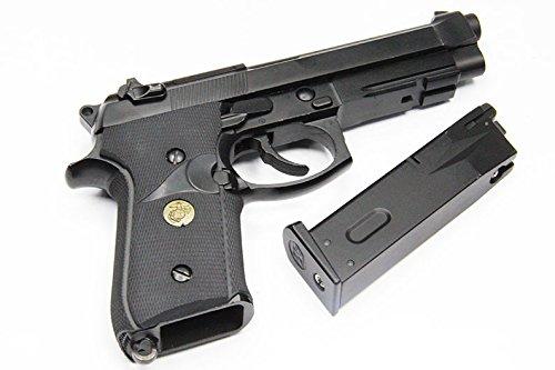 WE メタル M9A1 BK RUBBER GRIP ブラック 【メタルスライド標準装備!】 ■ m1911 m92 g17 p226 usp mk23