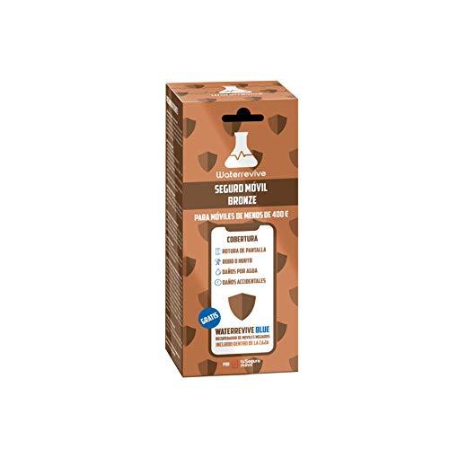 Waterrevive Bronze - Seguro Movil Total de 1 Año, para moviles o Tablets Desde 0 € hasta 400 €