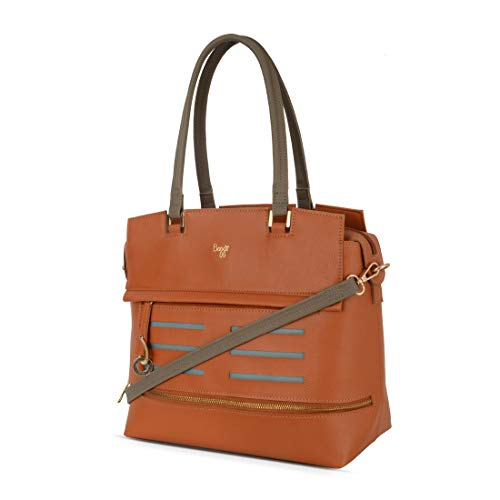 Baggit Spring/Summer '20 Women Tote Tan Handbag
