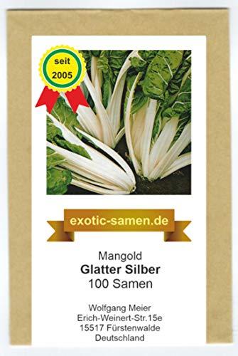Mangold - Glatter Silber - 100 Samen