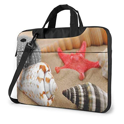 Shell Starfish Laptop Bag Maletín a Prueba de Golpes para Hombres, Mujeres, Tableta, Bolso de Mano para Viajes de Negocios, Oficina, 13 Pulgadas