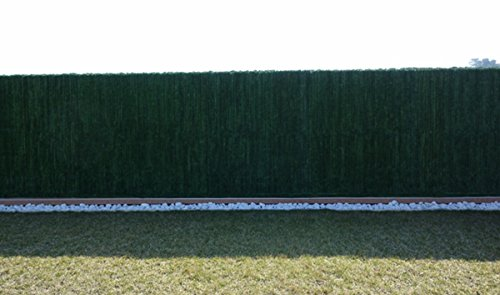 PEGANE Haie Artificielle/Brise Vue Rouleau 126 Ultra en PVC Coloris Vert Sapin, 1,00 m x 3 m