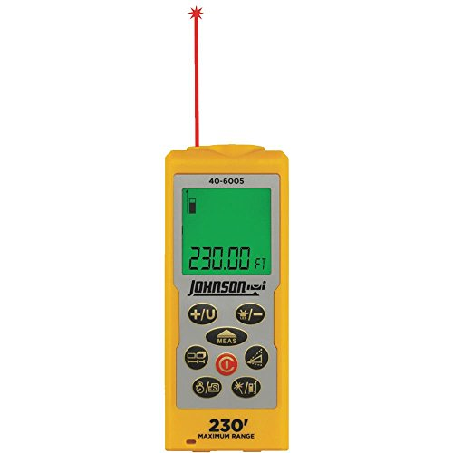 Johnson Level 40-6005 230-Feet Laser Distance Measure -