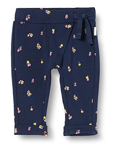 Noppies Baby-Mädchen G Regular fit Pants Chatham AOP Hose, Blau (Dress Blues P093), (Herstellergröße: 56)