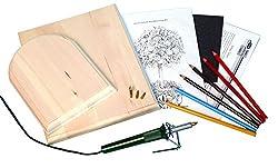 diy craft kits ~ wood burning kit