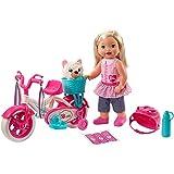 Mattel FCN11 muñeca - Muñecas (Multicolor, Femenino, Chica, 3 año(s), Caja Expositor, Perro)