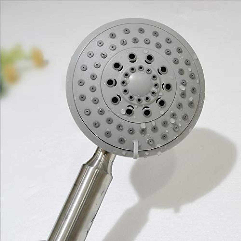 Wanlianer-Home 304 Edelstahl-Handbrause, Verstellbarer Duschbrauseglaskopf. für Badezimmer