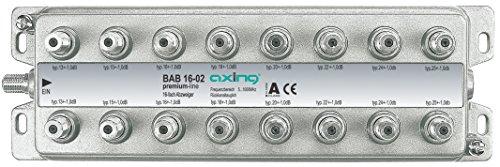 Axing BAB 16-02 - Derivador Acoplador direccional de señal TV con conector...