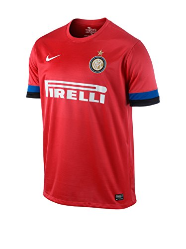 Nike Herren Trikot Inter Milan Away Replay Jersey, red/Blue/Black, S, 479320-603