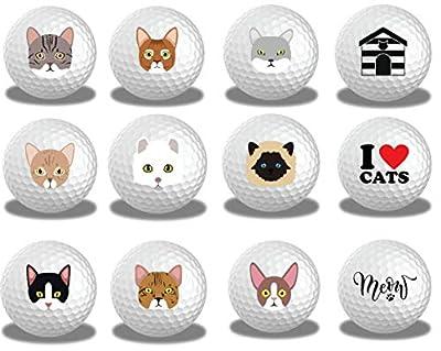 Cat Lover Golf Balls 12pk