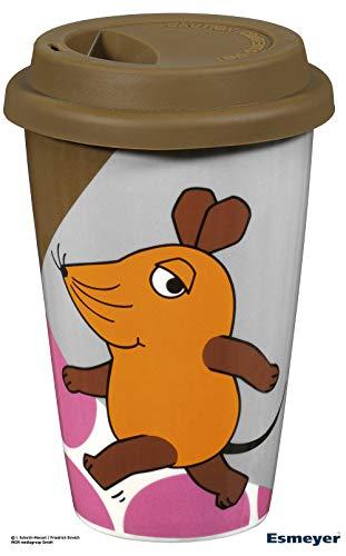Esmeyer Kaffeebecher Porzellan, Braun, 0,3 Liter