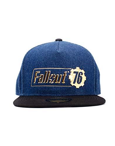 Difuzed Unisex Fallout 76 Logo Baseballkappe, Blau, Einheitsgröße