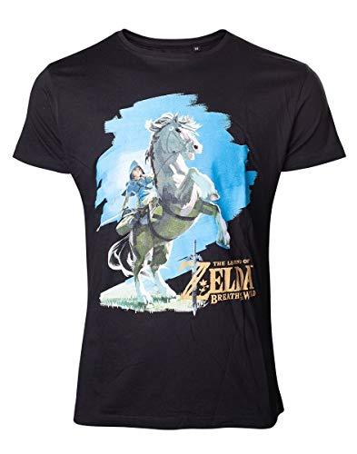 Nintendo légende de Zelda Breath of the Wild T-shirt homme grand