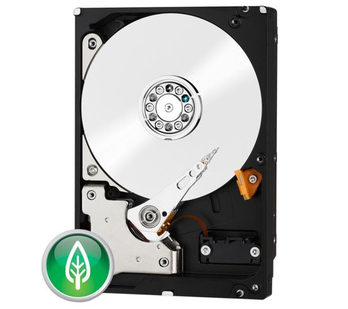 Western Digital WD30EZRX 3TB interne Festplatte (8,9 cm (3,5 Zoll), 5400 rpm, 2ms, 64MB Cache, SATA III) grün oder blau - Auswahl ist nicht möglich