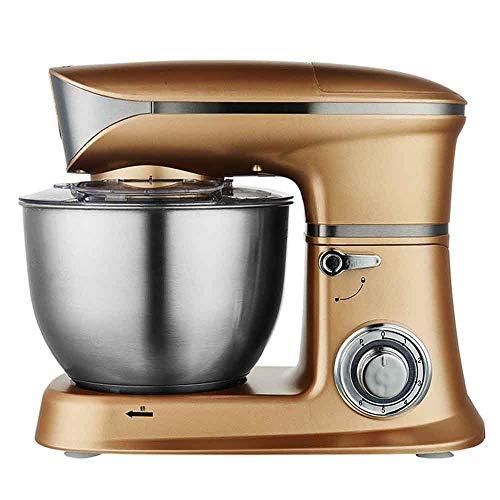 kneedmachine voor levensmiddelen, 1300 W, keukenmixer, keukenmachine, 6,5 l, deegmachine, mixer, garde, keukenmachine, multifunctionele met grote capaciteit