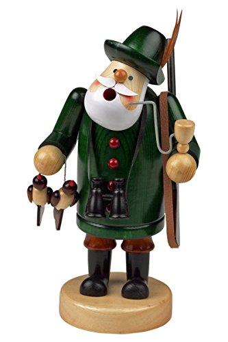 Brucia incenso uomo Statua statuetta fumo per incenso 'förster' ca, 18 cm alta, in legno, natalizia (30105-18)