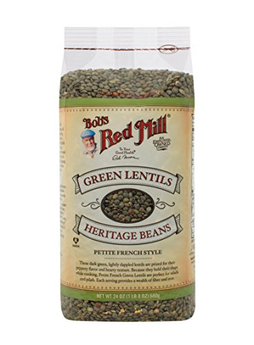 Bob's Red Mill Petite French Green Lentils, 24-ounce