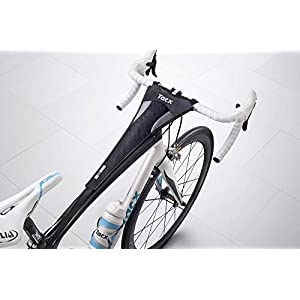 Tacx - Cubierta de sudor para bicicleta, Negro, Talla única