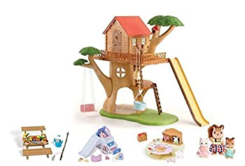 Calico Critters Adventure Treehouse Gift Set