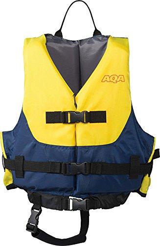 AQA(エーキューエー) マリンスポーツ ジュニア ライフジャケット キッズ2 イエロー KA-9021 4905