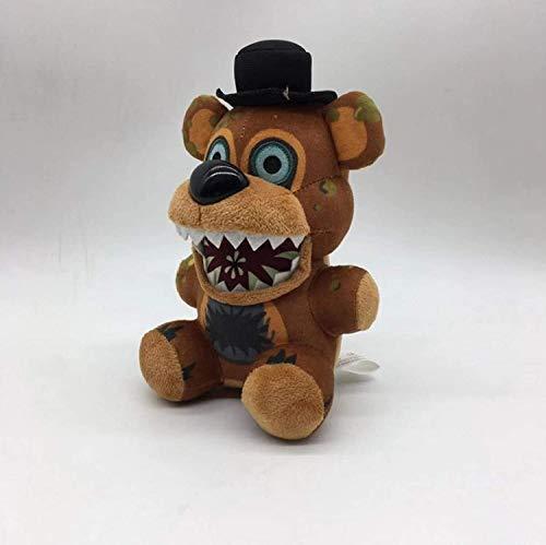 siyat FNAF Freddy Bär füllte Plüsch-Spielzeug Fünf Nächte im Freddys Albtraum Freddy Bären-Plüsch-Spielzeug-Puppe for Kinder 18Cm Chongxiang Jikasifa-UK