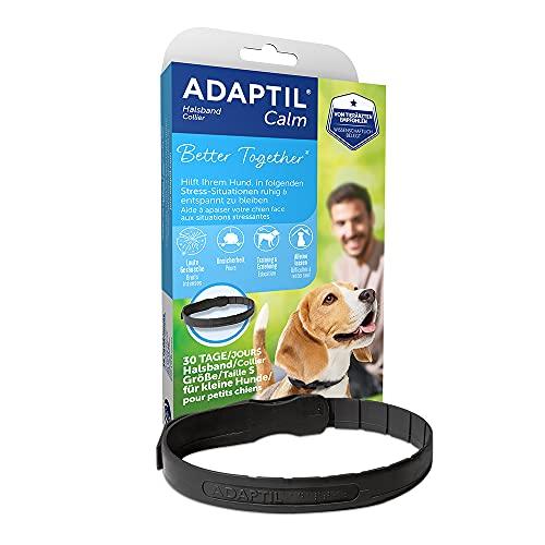 ADAPTIL® Calm Halsband für kleine Hunde | Erziehungshalsband Hund | Halsumfang bis 37,5cm