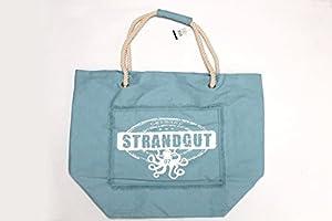 Strandtasche hellblau 50 x 70 cm – Strandgut07 – Beachtasche Shoppingtasche