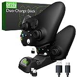 Orzly Duocharger - Station d'accueil Compatible avec Les Manettes pour Xbox Series X   S, Google Stadia, Playstation 5 et Nintendo Switch - USB-C Station de Chargement Édition Stealth Black [Noir]