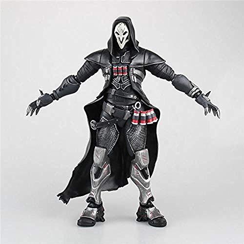 NoNo Overwatch Anime Figur Model Reaper Bewegliche Statue Figur Tägliches Leben Home Decoration Sammlerstück Kinderspielzeug Geschenk 28CM