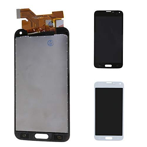 HuntGold 1 Pieza de Repuesto para Samsung Galaxy S5 SM-G900F Pantalla LCD digitalizador Montaje i9600 G900
