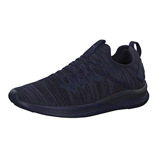 Puma Herren Ignite Flash Evoknit Cross-Trainer, Blau (Peacoat 06), 40.5 EU