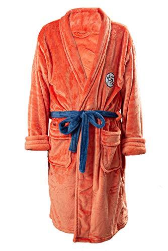 Xiemushop Disfraz de Dragon Ball Son Goku para adultos, ropa de noche, pijama, bañador.
