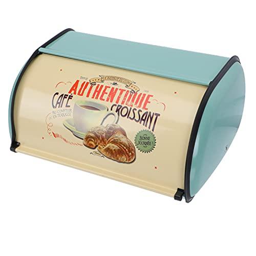 YARNOW Brotkasten Metall Retro Brotbox...