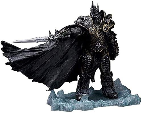 YLLAND Anime Figure Unlimited World of Warcraft The Lich King: Arthas Menethil 8 Figurines PVC de 66 Pouces Modèle de Collection Statue de caractère Catégorie Toys LNNDE