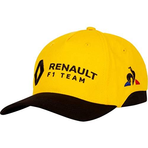 Le Coq Sportif Renault Cap Amber Yellow/Black Gorra, Unisex Adulto, Talla Única