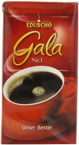 Eduscho Gala Nr. 1 Ground Coffee 17.6oz/500g