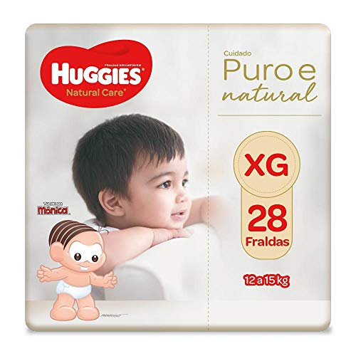Fralda Natural Care, 28 Fraldas, Huggies, Xg