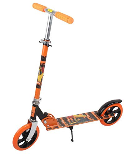 Learn More About JBHURF Adult Pedal Scooter Second Round Youth Shock Scooter Folding Scooter Durable...