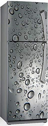 JYKFJ 3D Fruits légumes Auto-adhésif Lave-Vaisselle réfrigérateur congélation Autocollant Enfant Art réfrigérateur Porte Couverture Papier Peint