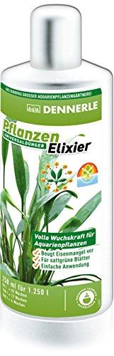 Dennerle Pflanzen Elixier - Universaldünger für Aquarienpflanzen, für sattgrüne Blätter (250 ml)