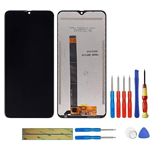 swark Pantalla LCD compatible con Blackview A60/A60 Pro (negro), digitalizador, cristal de montaje + herramientas
