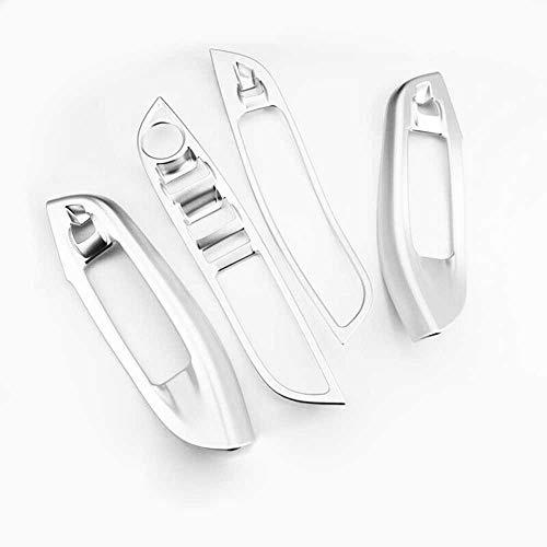 KenKER Ajuste del Marco del botón del Interruptor de la elevación de la Ventana del Coche, Apto para Ford Focus 3 MK3 2015-2018