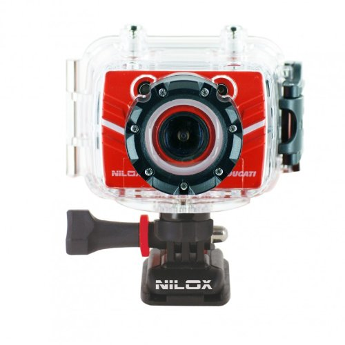 Nilox 13NXAKFH00002 Foolish Ducati Action Cam Full HD, Schermo Incluso,...