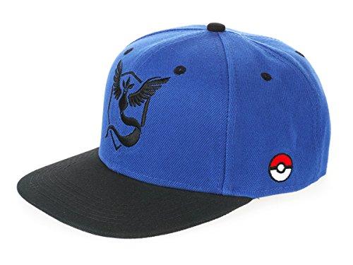 KeySmart Pokemon Go Basecap, Team Weisheit / Mystic, Blau