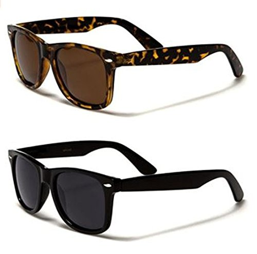 Retro Rewind Classic polarizadas Wayfarer Gafas de sol