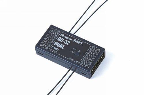 Graupner 33516 Empfänger GR-32 HoTT 2.4 GHz Dual 16 K.