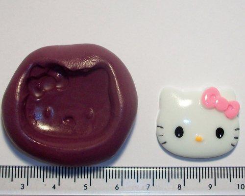 Hello Kitty Petit moule en Silicone pour décoration de gâteau