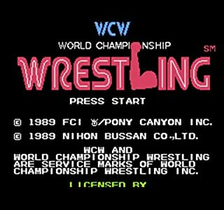 world championship wrestling nes