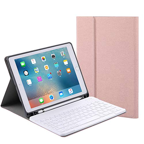Voor Apple iPad AIR3 / Pro 10,5 Keyboard Case Smart Beschermende Shell Lederen Tablet Case met Wireless Bluetooth Keyboard voor Ipad AIR3 / Pro 10.5